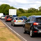 Malvern Gazette: DELAYS: A typical day on the A4440 Southern Link Road in Worcester.