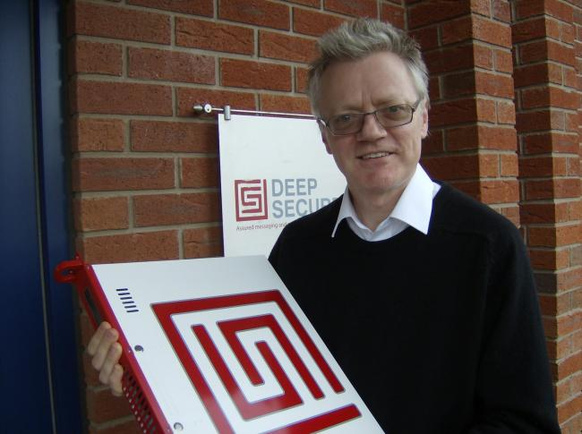 GOOD NEWS: Deep Secure chief technical officer Simon Wiseman