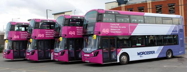 The new First buses. Picture by Ady Culpin.