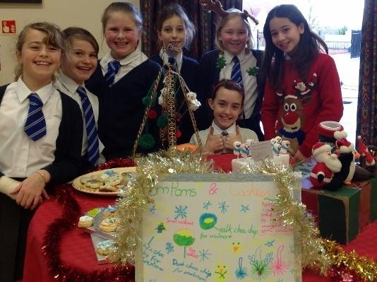 Pupils choose Malvern theme for charity fundraising event