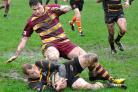 John Anyon's action pictures from Kidderminster Carolians with Malvern in the maroon shirts.