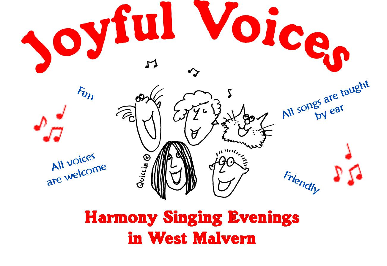 Joyful Voices - Singing in Harmony – Everyone Welcome