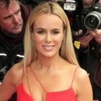 Malvern Gazette: Amanda Holden lies naked on a bed of cabbages for Peta