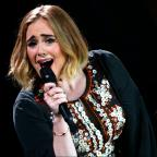 Malvern Gazette: Saying Hello to Glastonbury has given Adele's 25 a boost up the albums chart