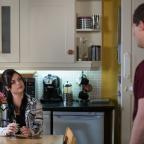 Malvern Gazette: EastEnders shows pregnant Whitney Dean confronting cheating boyfriend Lee Carter
