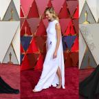 Malvern Gazette: Kirsten, Karlie and Taraji in capes, gowns and glitter on the Oscars red carpet
