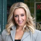 Malvern Gazette: Corrie's Catherine Tyldesley relishes soap 'scrap' with Kym Marsh