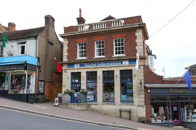 Malvern Tourist Information Centre.