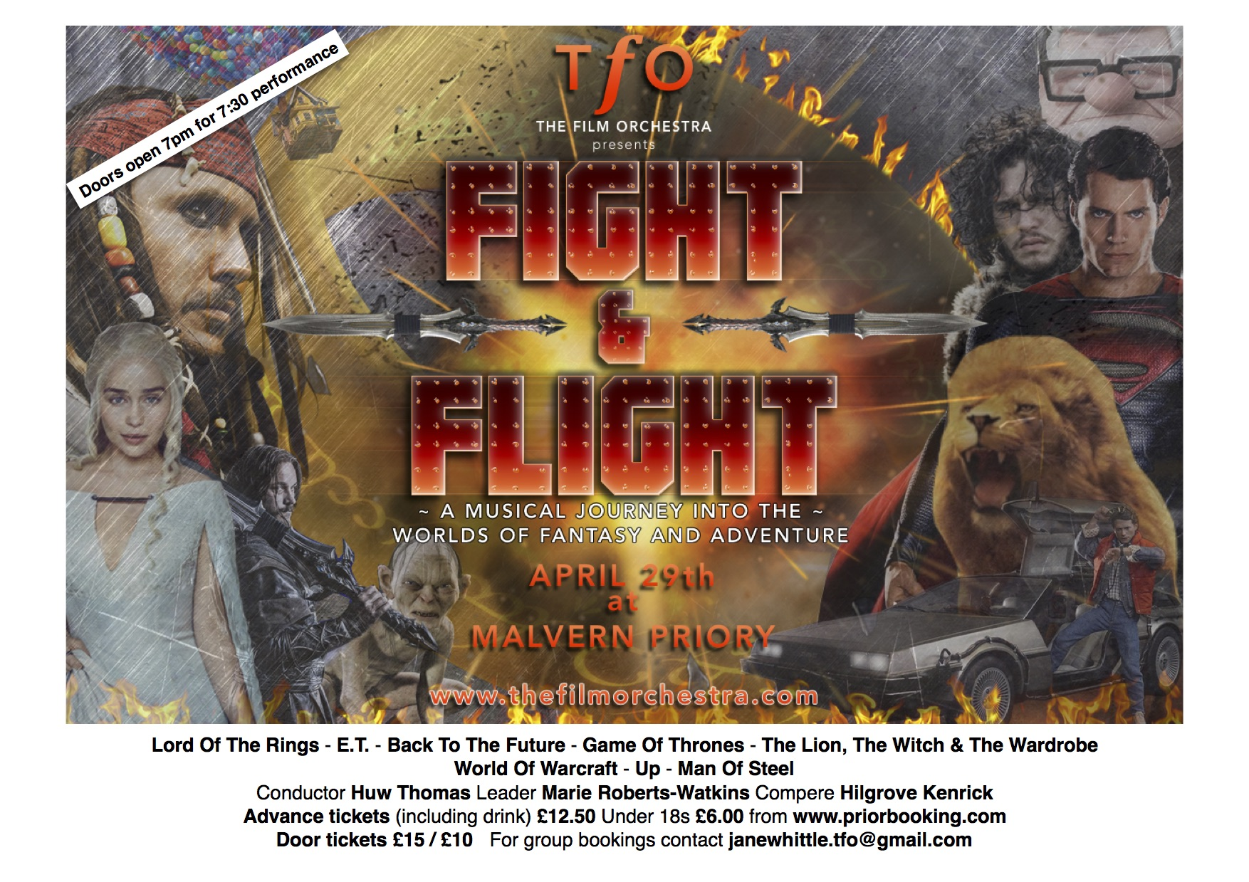 Fight & Flight: A Musical Journey into the Worlds of Fantasy & Adventure