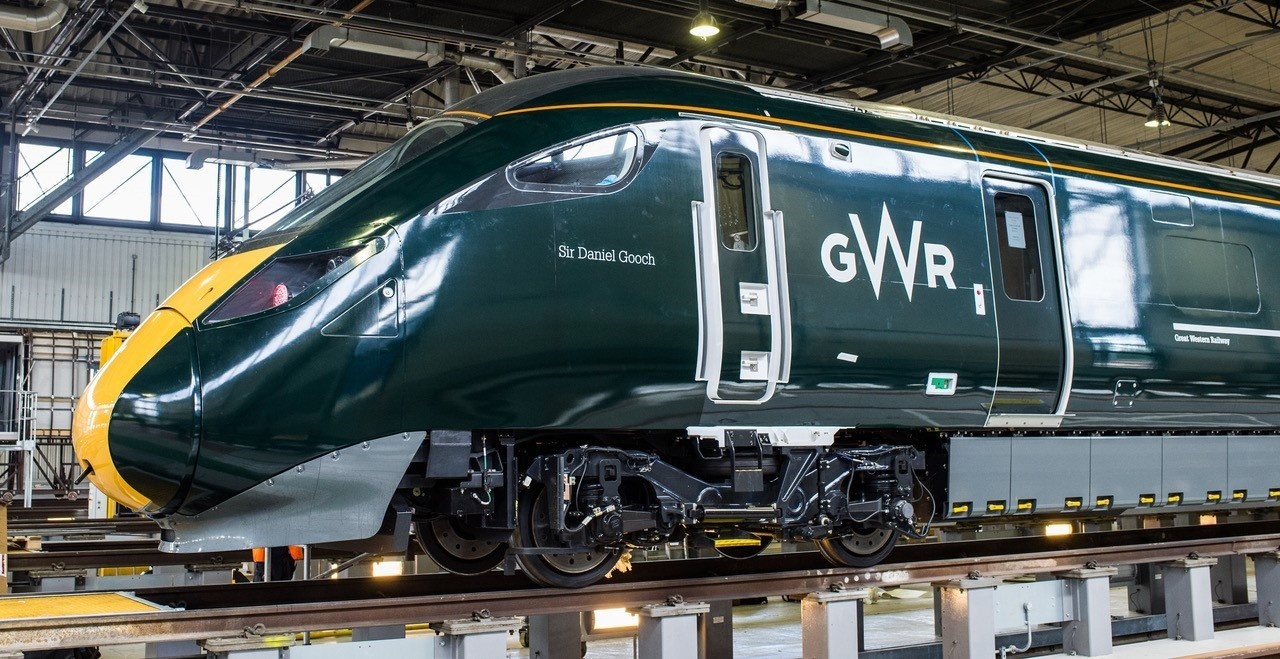 The new GWR InterCity Express Train. Picture: GWR
