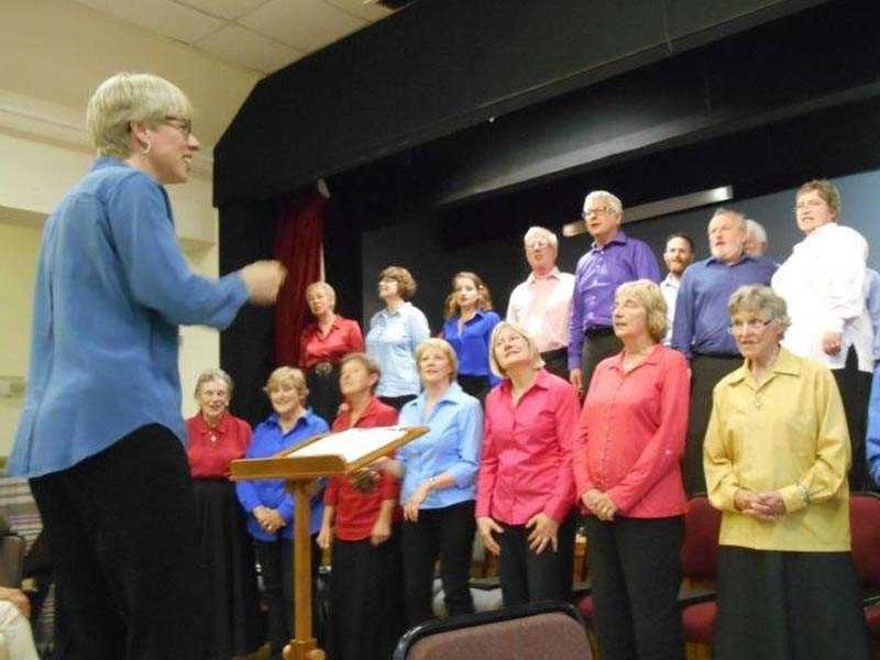 Cradley Singers in full flow