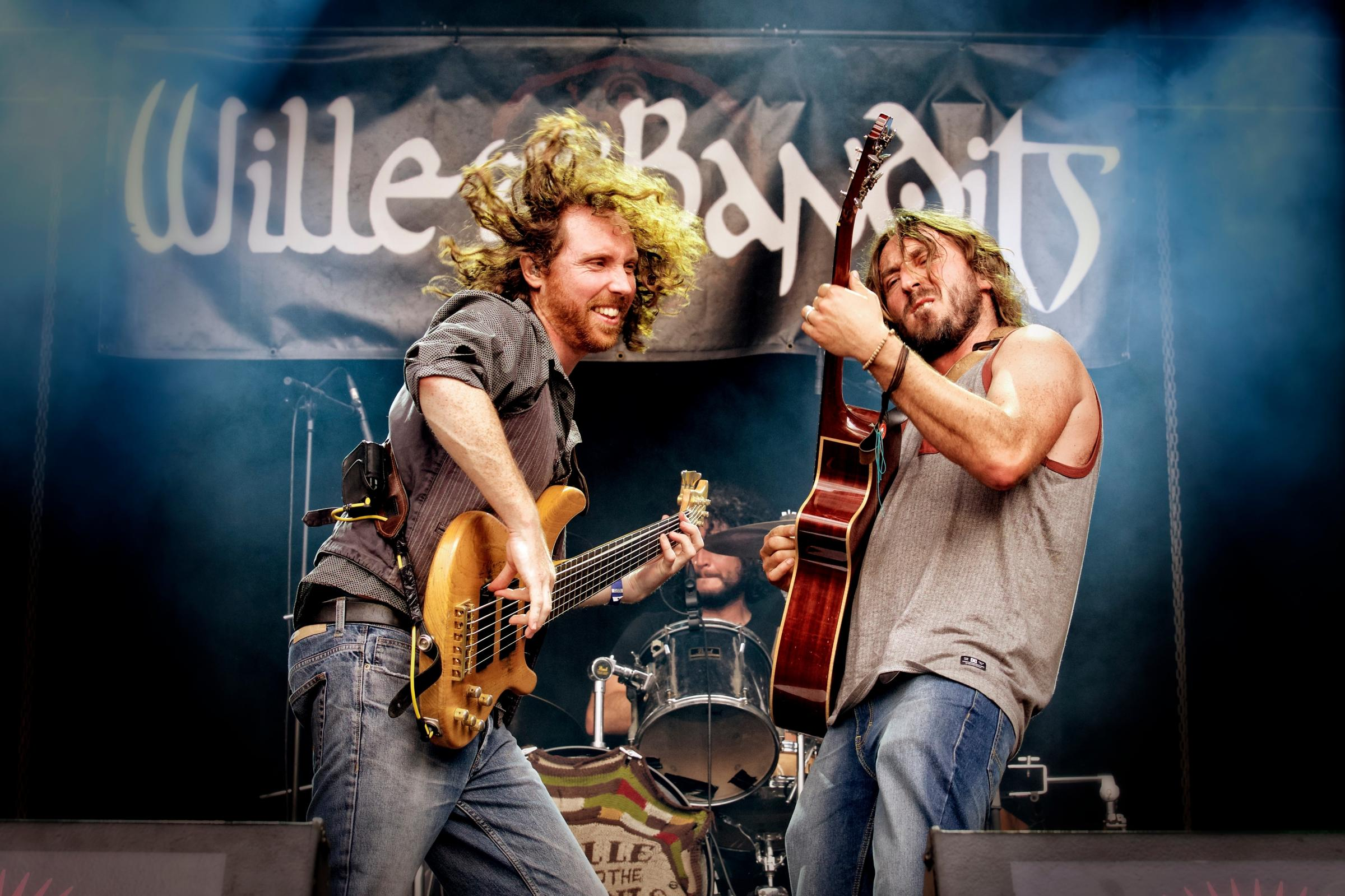 Wille and the Bandits - in a pensive mood