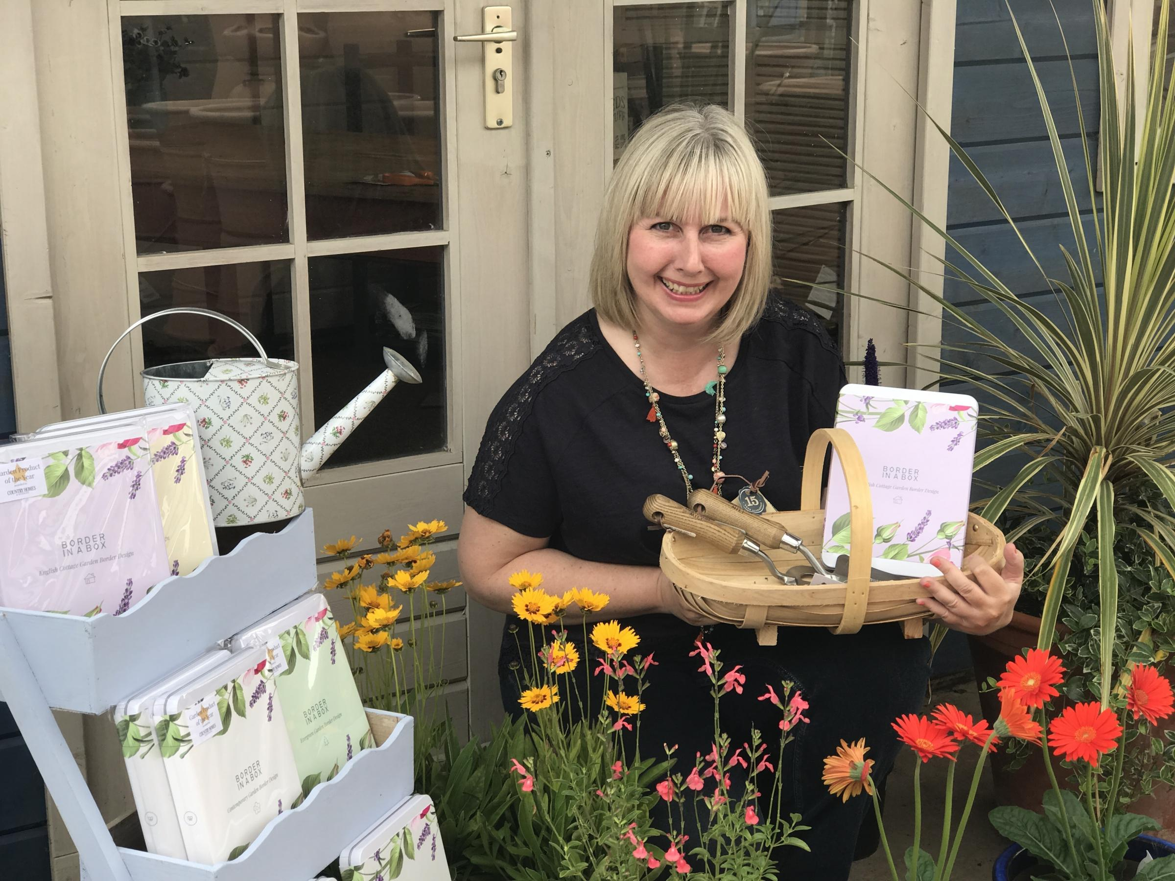 NOMINATION: Nikki Hollier of Border in a Box, which has been nominated for a NatWest Great British Entrepreneur Award.