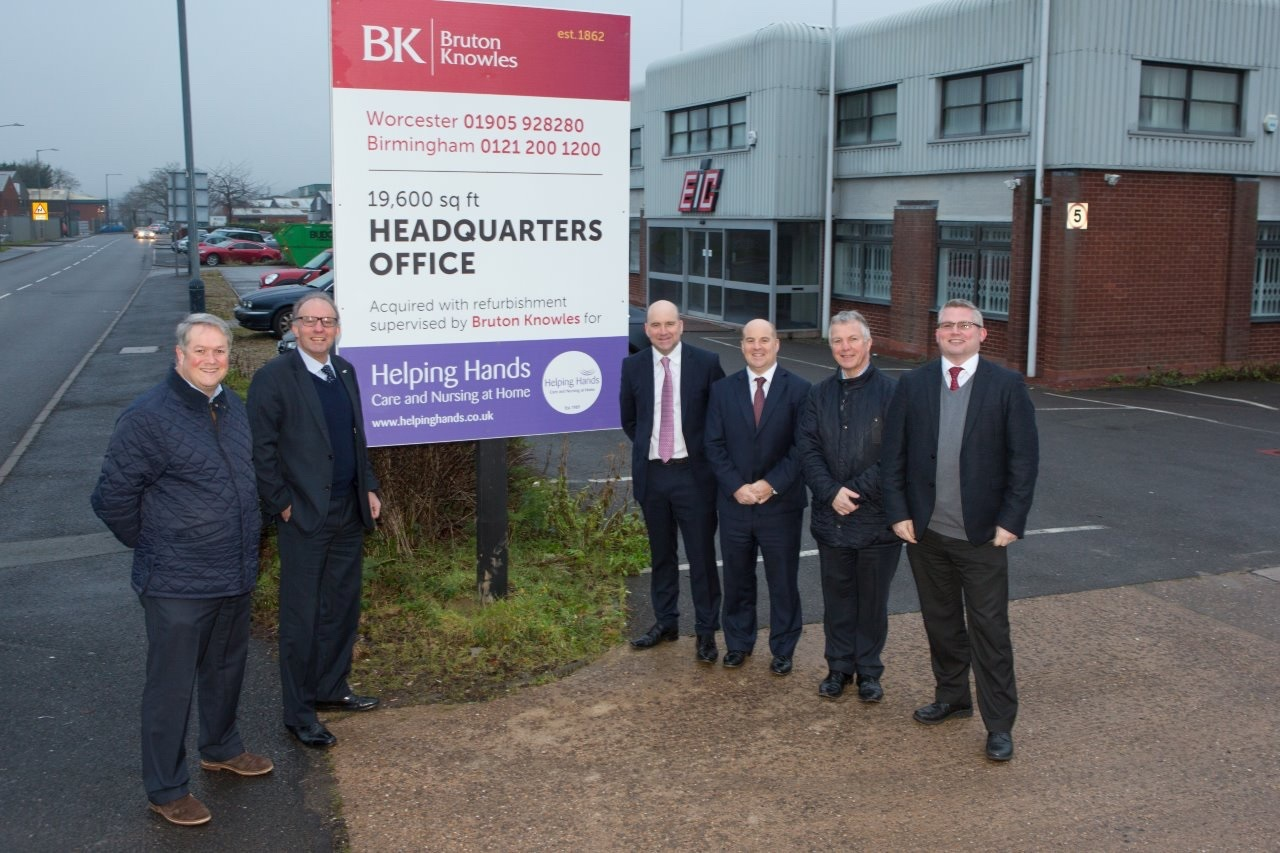 ON THE MOVE: Helping Hands is relocating to a new Alcester head office.