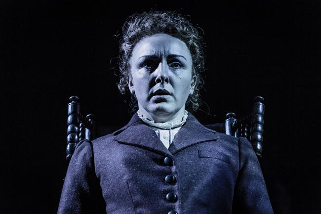 HAUNTED - Carli Norris in Turn of the Screw. Pic by Robert Workman