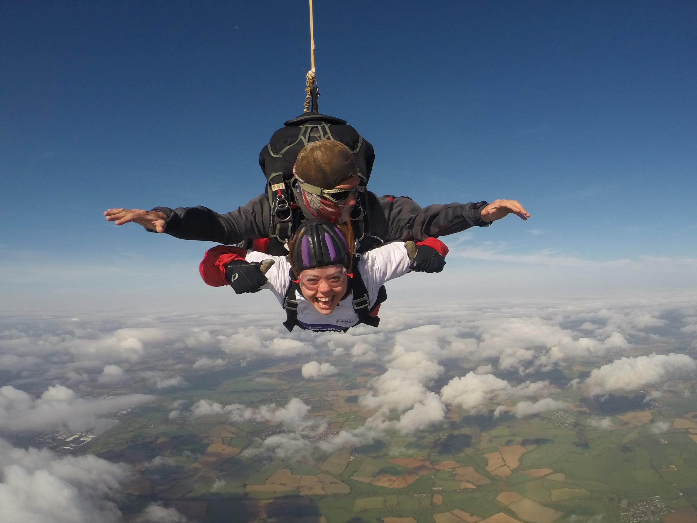 Hospice Tandem Skydive Day