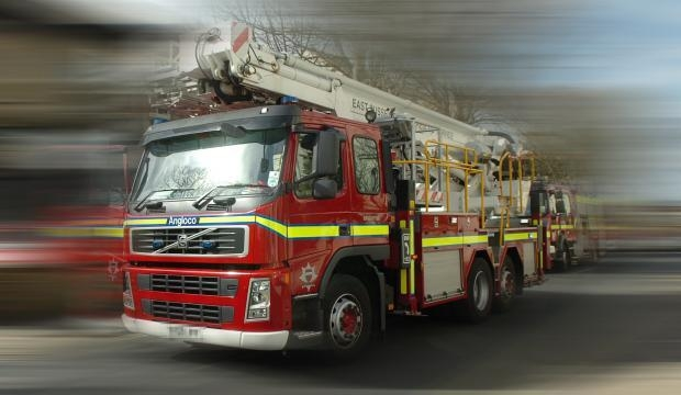 HGV cleared from M5 following fire