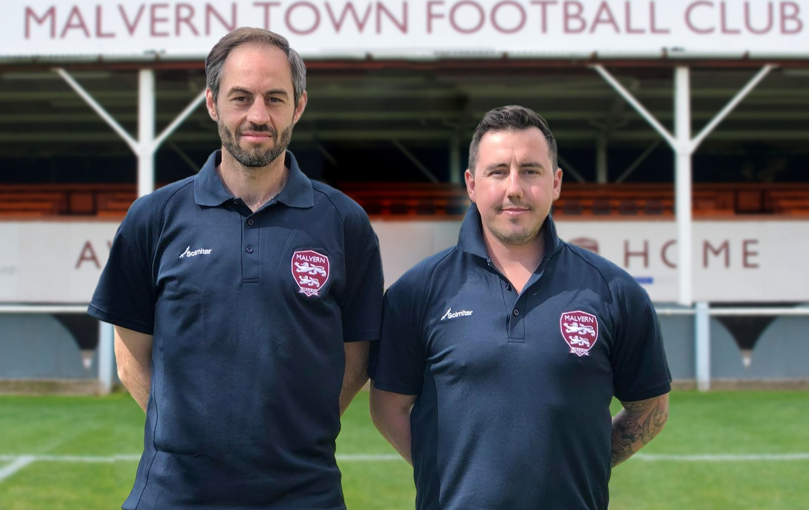 Joint managers Dene Whittal-Williams and Lee Hooper
