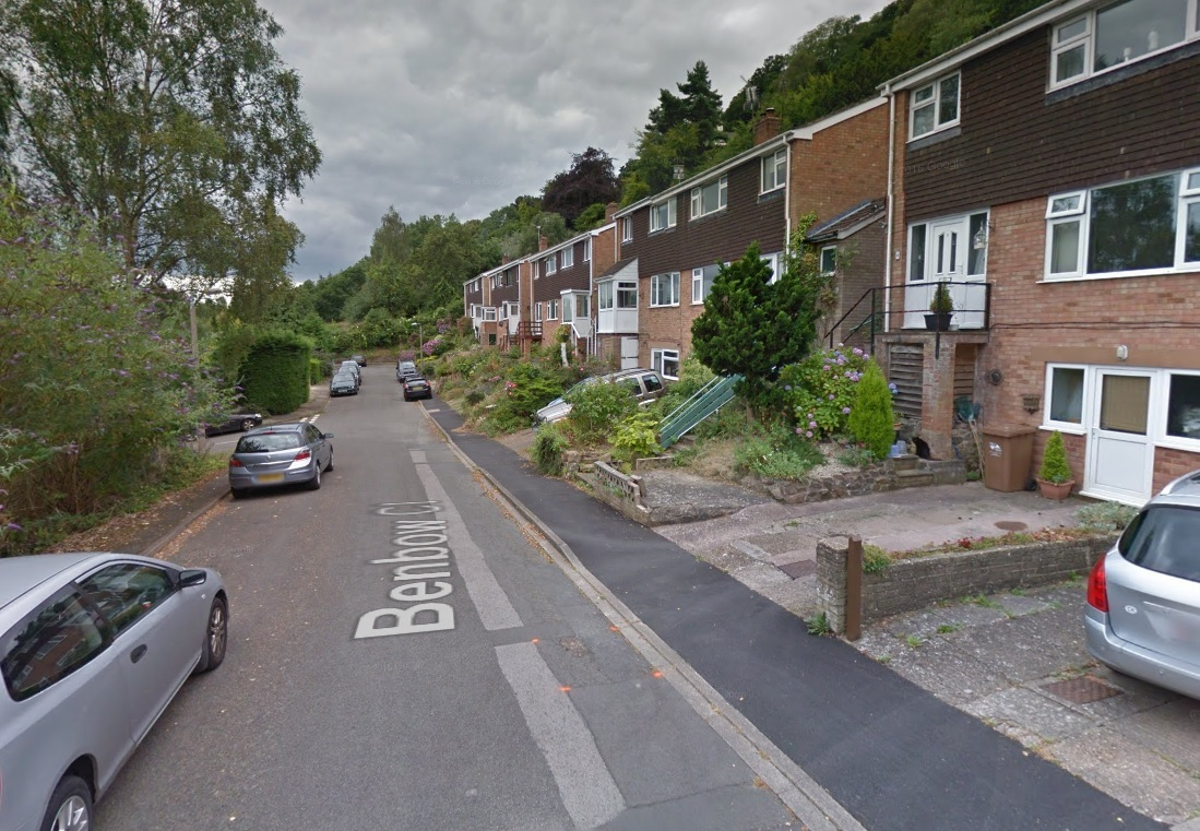 SCENE: Emergency services were called to Benbow Close, MalvernWells. Picture: Google Street View