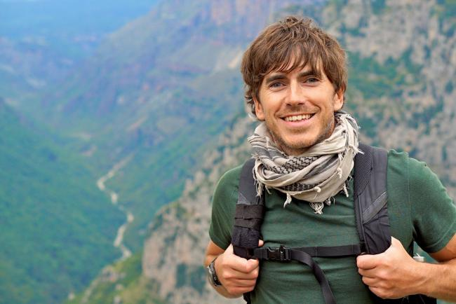 ADVENTURER: Simon Reeve, heading this way