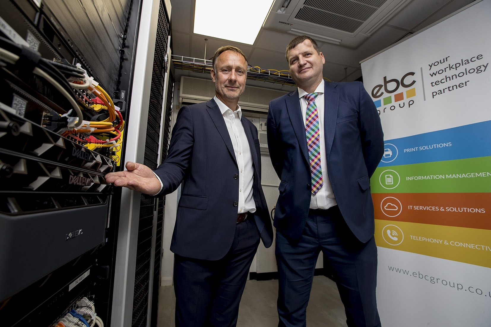 INVESTMENT: Growing legal firm Talbots Law has invested £1m. Pictured are Richard Lane, from EBC Group, and Ian Bond, Talbots Law