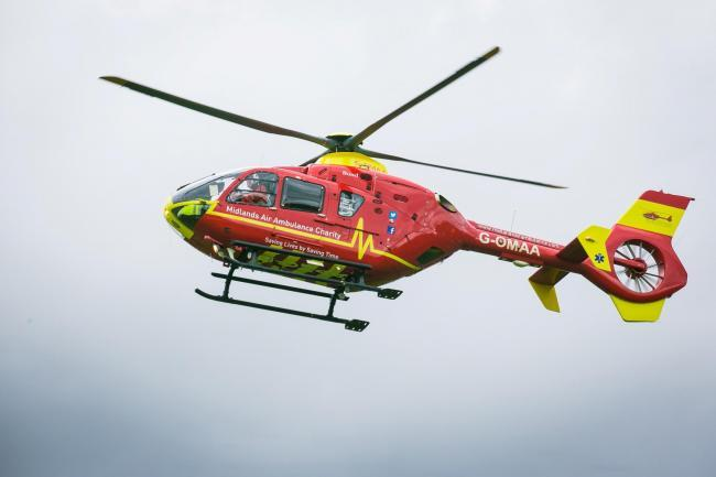 The Welsh Ambulance Service were called to Kington on Monday at 5.35pm