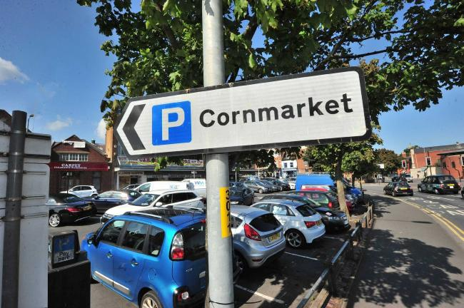 Plans For Cashless Car Parks In Worcester Moves Step Closer - Car show display barriers