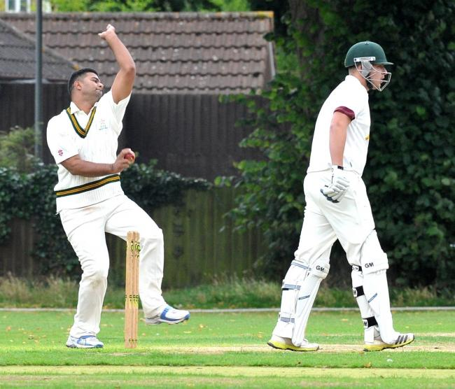 Bowler Mohammad Adeel took five wickets for Worcester against Worcester Nomads. Picture: JOHN ANYON