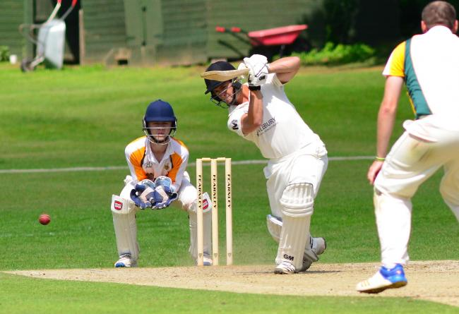 Ombersley batsman Nick Hammond