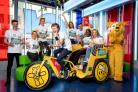 The One Show's Rickshaw Challenge team for 2018