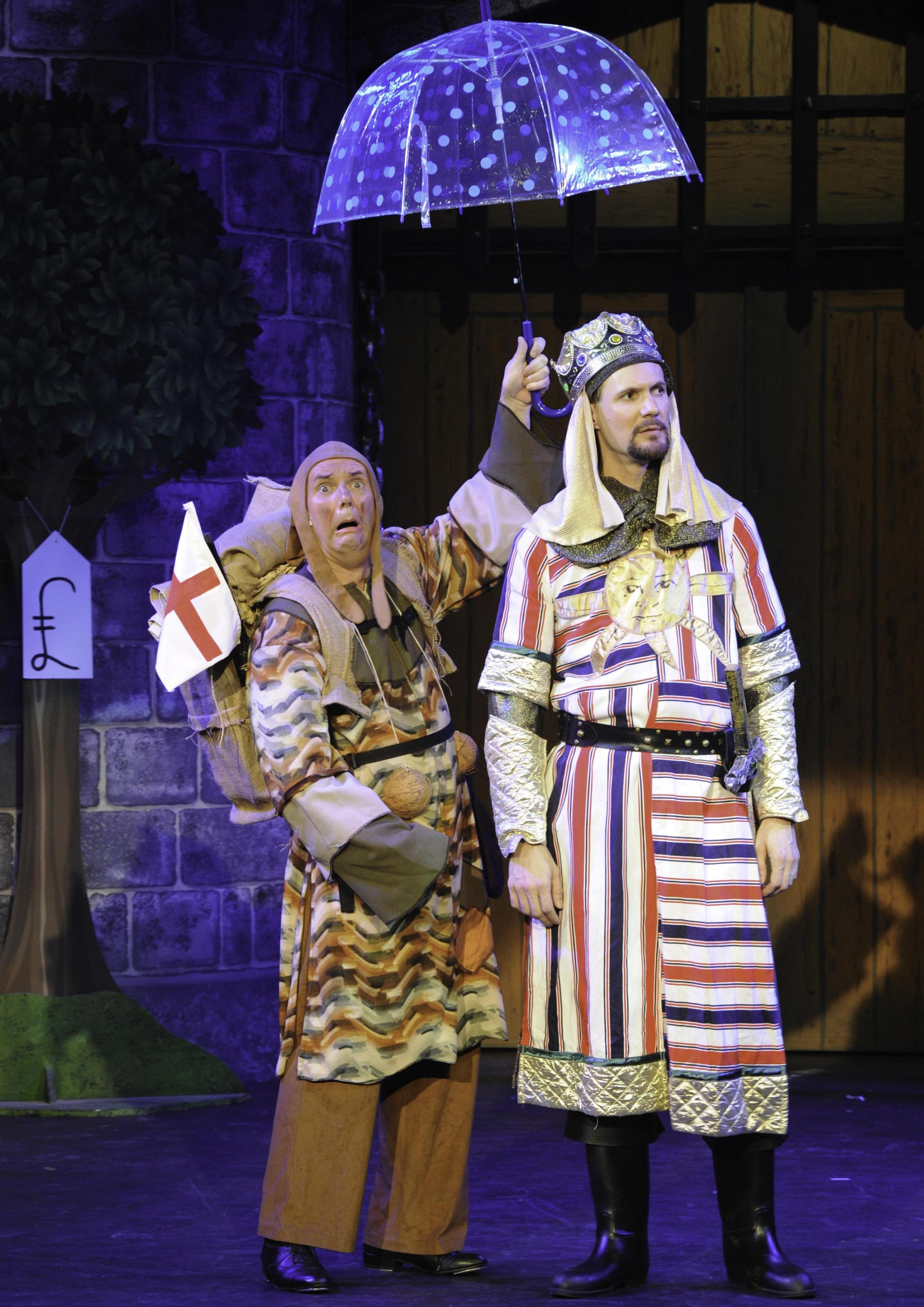 KINGLY: Fun with Spamalot at The Swan