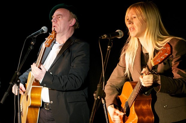 Ashley Hutchings and Becky Miller.