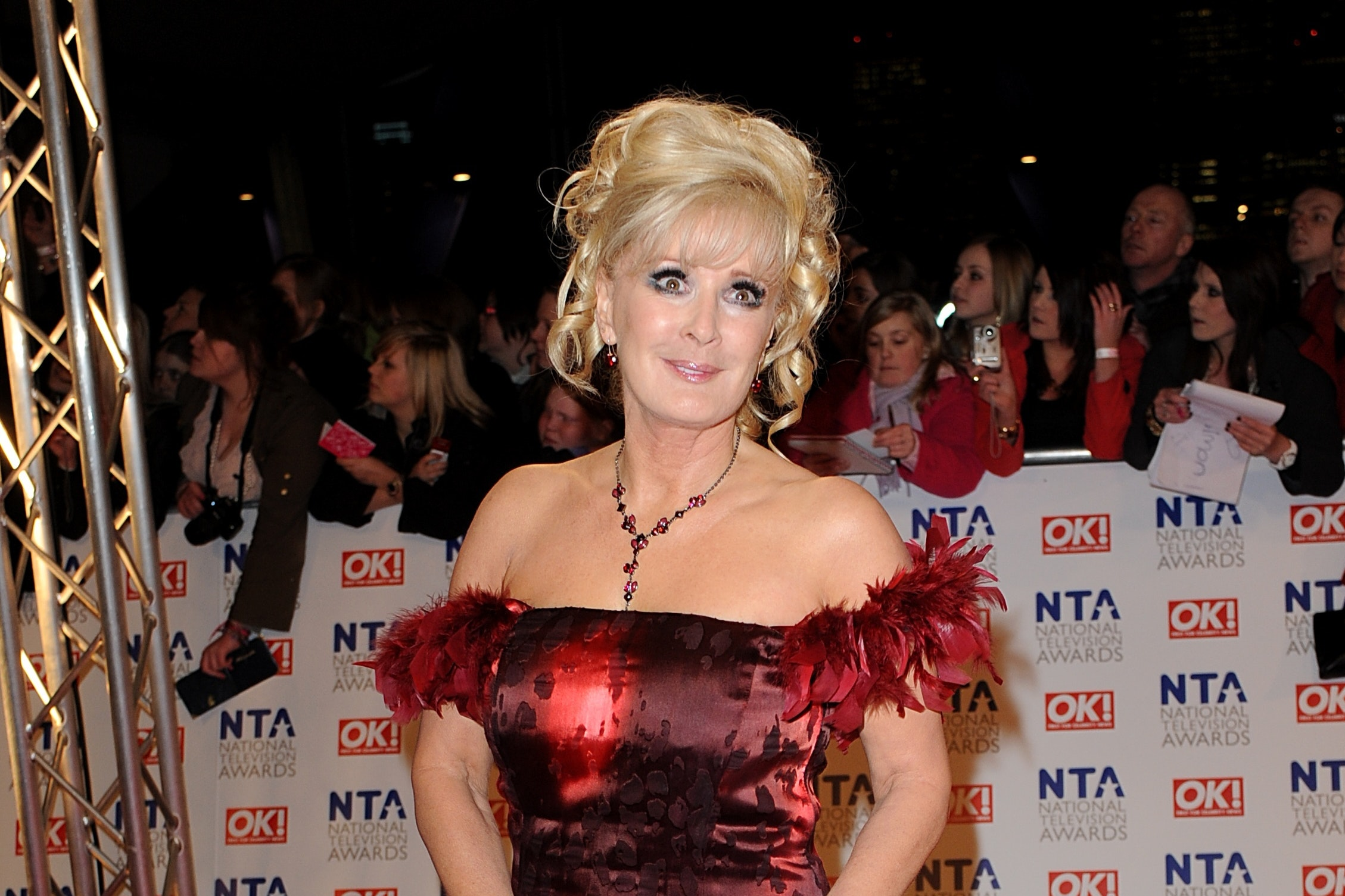 Beverley Callard, who said she believed her character would never have a relationship with a married man