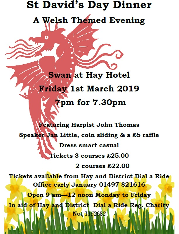 St David's Day Dinner - A Welsh Themed Evening