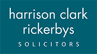 Malvern Gazette: Harrison Clark Rickerbys Solicitors logo