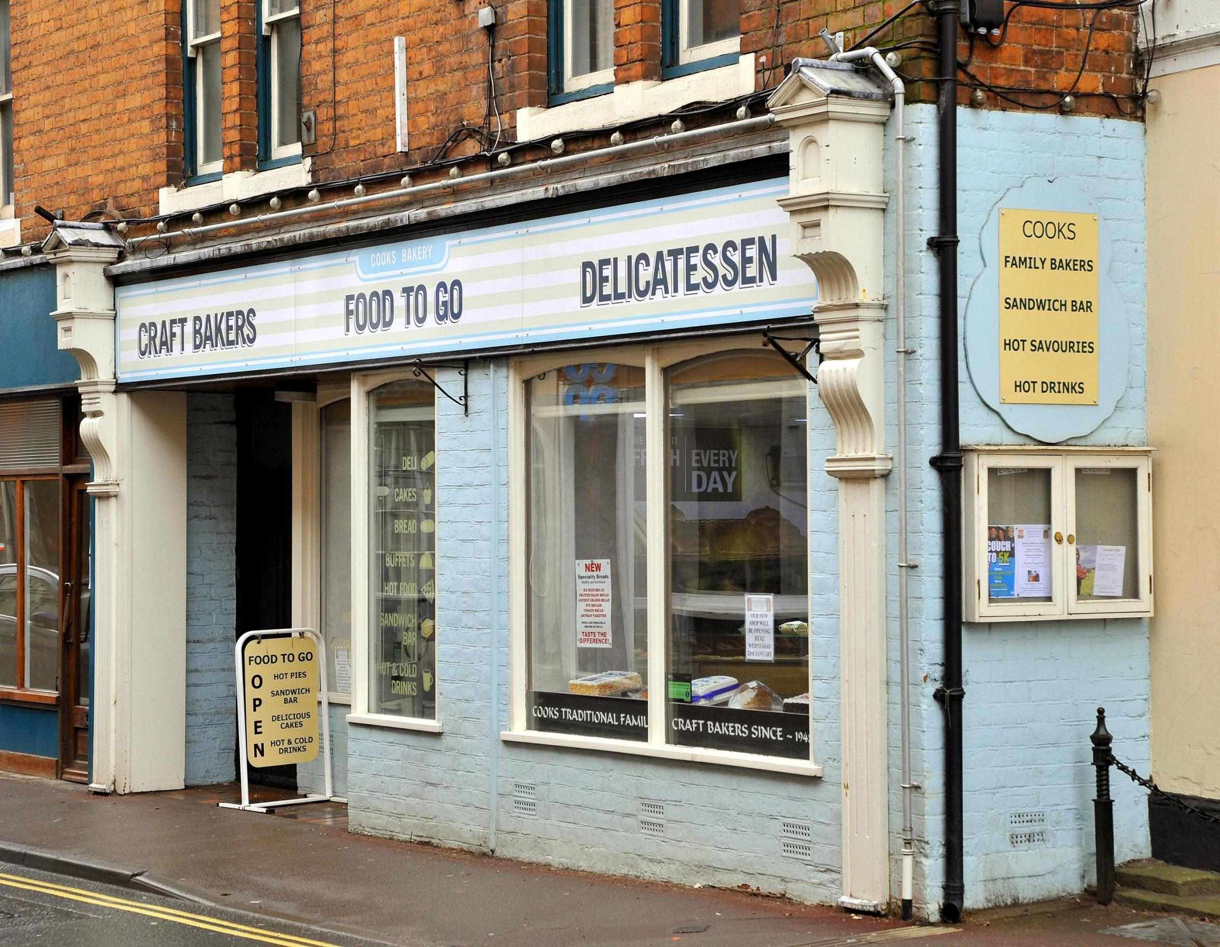 BAKERY: The bakery in Upton upon Severn, re-opened by Colston Bakeries. Pic. John Anyon