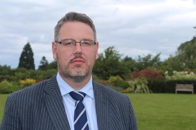 West Mercia Police and Crime Commissioner John Campion