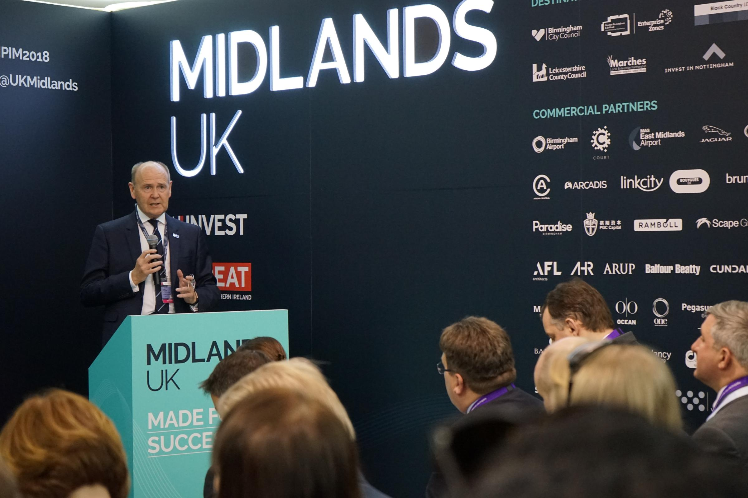 SHOW: Sir John Peace will be leading the Midlands delegation to MIPIM, the world's largest real estate exhibition