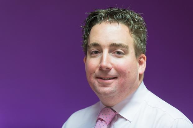 SUPPORT: Alistair Hayward-Wright welcomes the government's package of support
