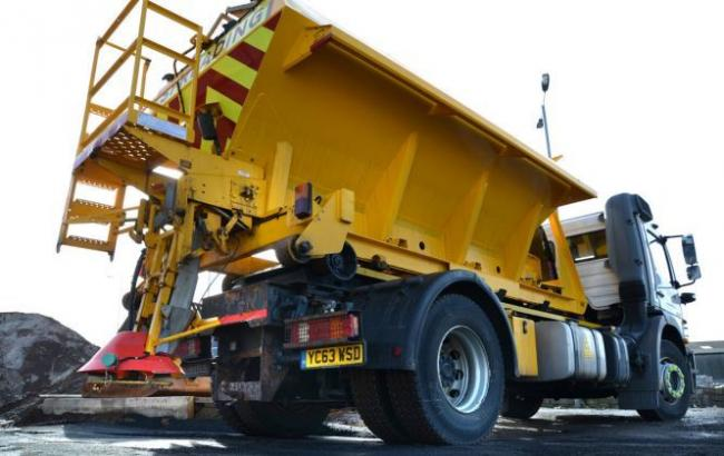 IMAGE: Gritters will be on standby tonight