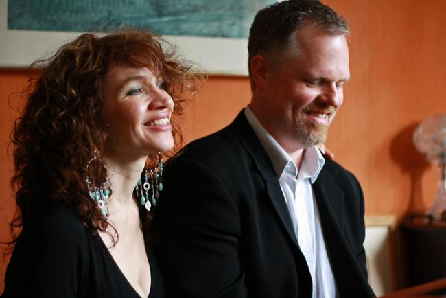 Jacqui Dankworth and Charlie Wood... a musical marriage made in heaven.