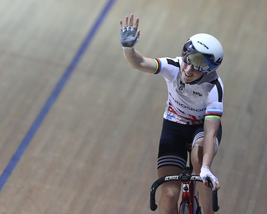 Laura Kenny had a successful second day at Six Day