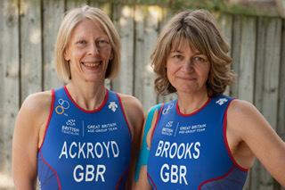 Jayne Ackroyd and Lorraine Brooks