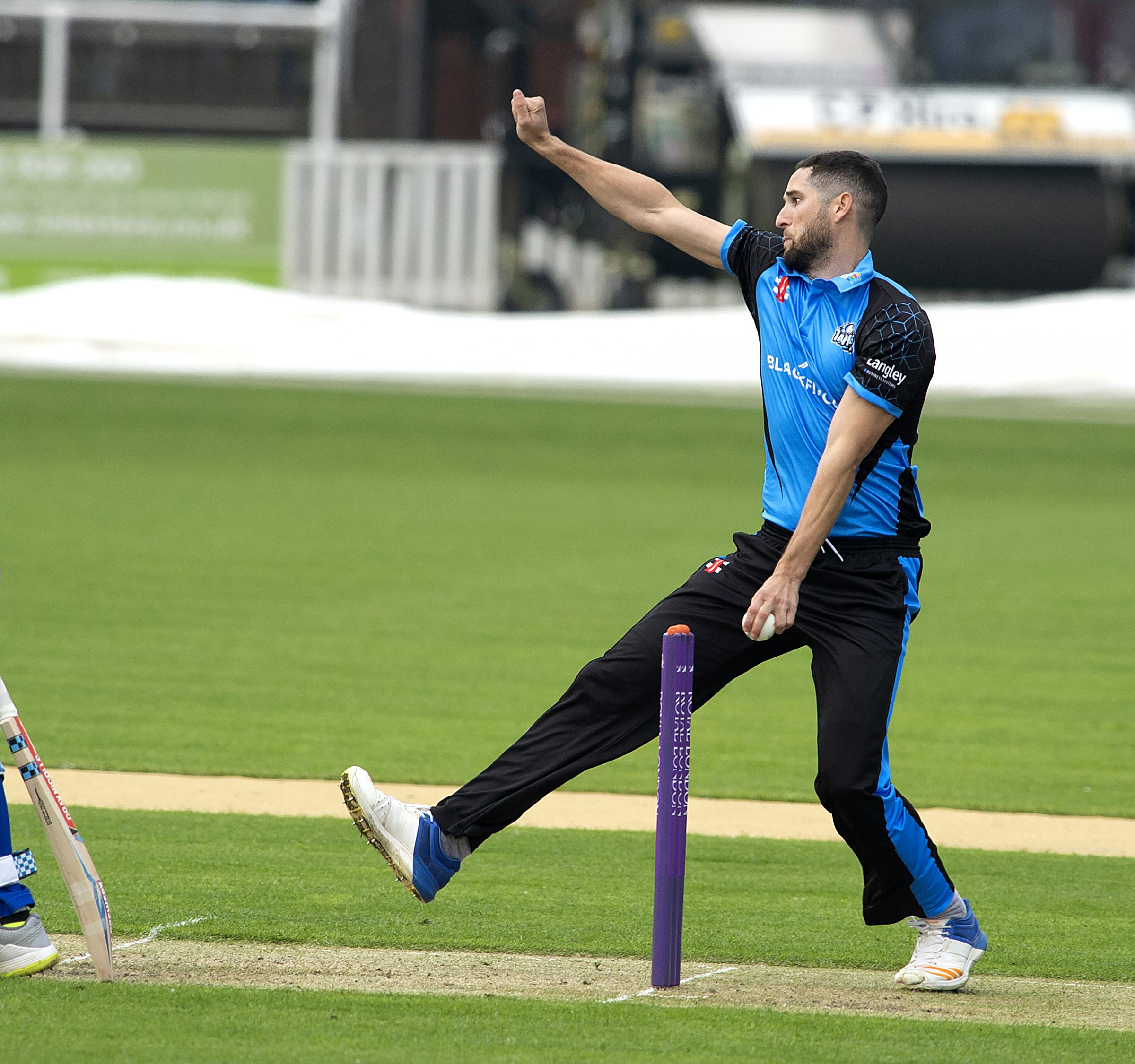 Worcestershire Rapids' Wayne Parnell. Picture: PAUL FRANCE/WRITE ANGLE MEDIA