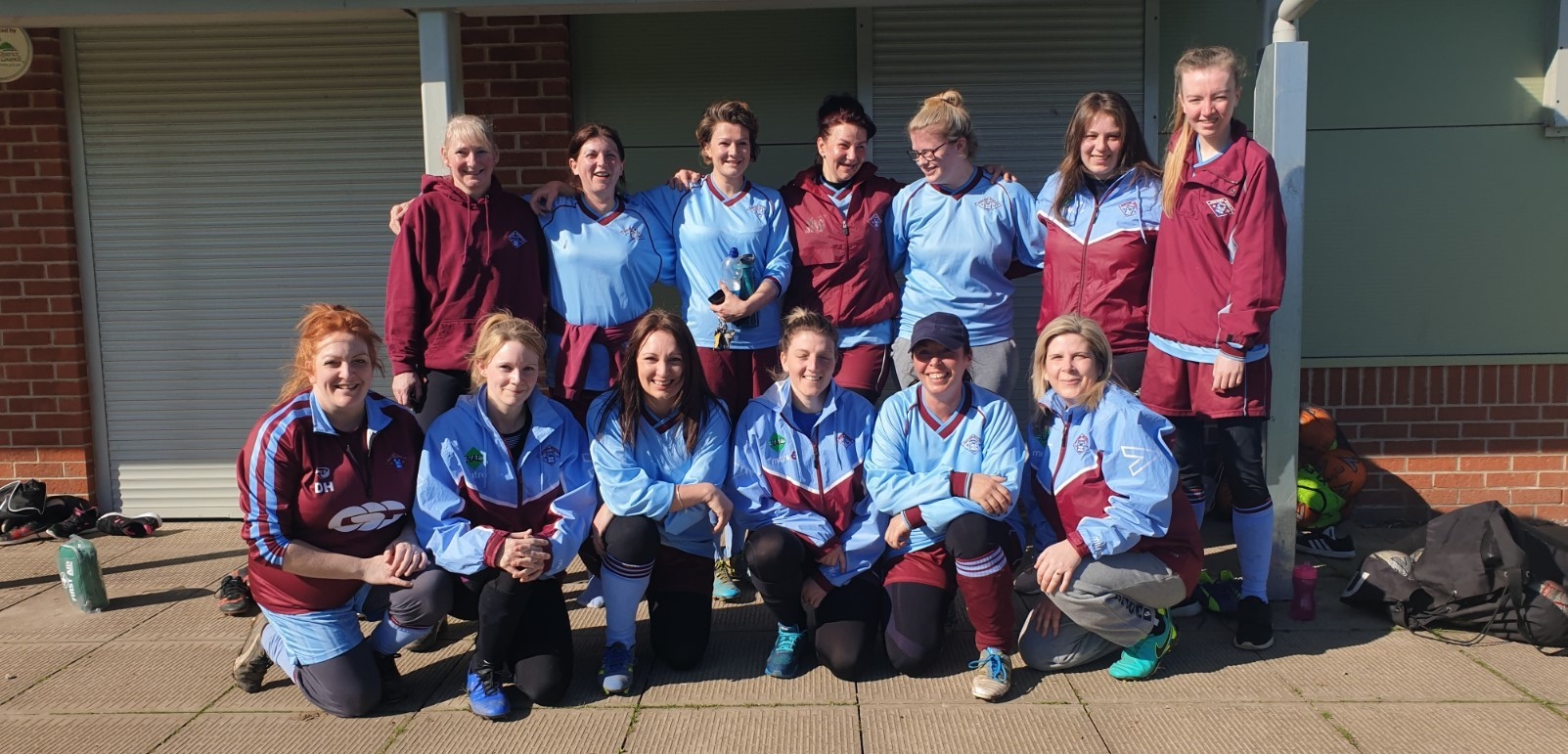 The new Newtown women's football development squad. Picture: Sam Hayes-Wilson