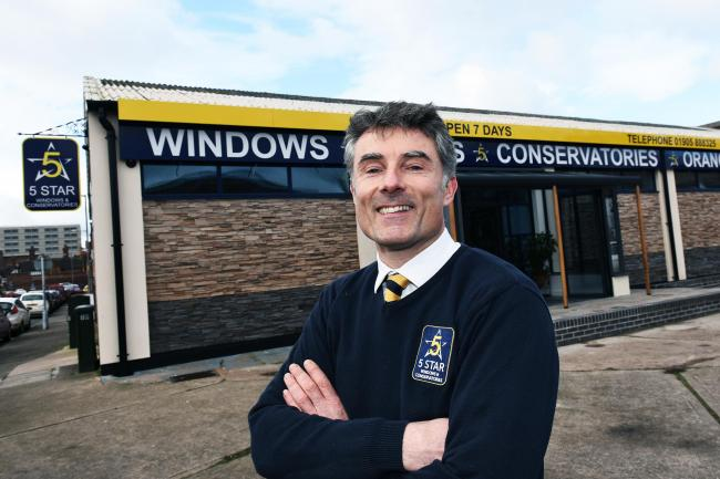 5 Star's Richard Manser, managing director, outside the firm's Kidderminster HQ