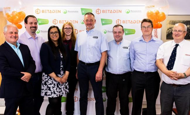 TECH: BetaDen's Cohort 1 members at the event last week