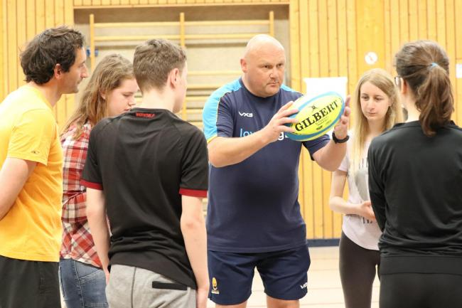 Warriors Community Foundation's Simon Northcott gives some tips on the sport of Hugby